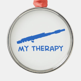 Flute my therapy designs christmas tree ornaments