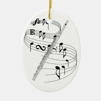 Flute Ornaments