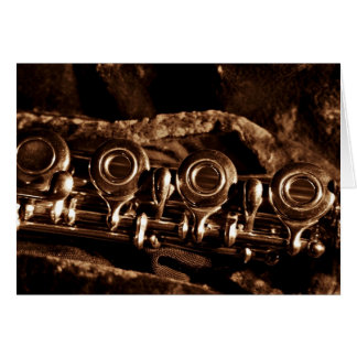 Flute Photo Card