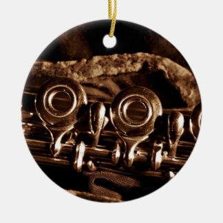 Flute Photo Ornament
