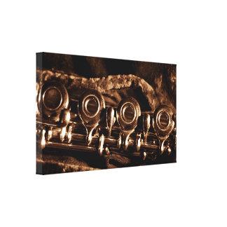 Flute Photo Gallery Wrap Canvas