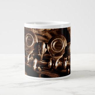 Flute Photo Large Coffee Mug