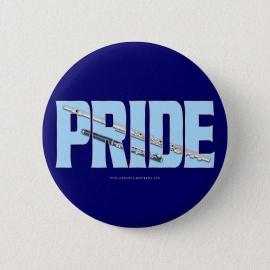 Flute - Piccolo Pride 6 Cm Round Badge