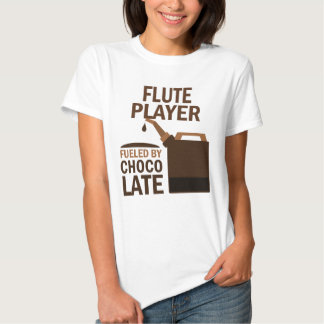 Flute Player (Funny) Chocolate T Shirts