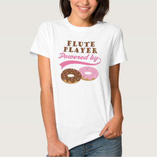 Flute Player Funny Gift T Shirt
