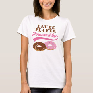 Flute Player Funny Gift T-Shirt