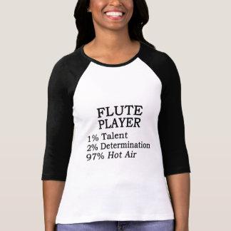 Flute Player Hot Air T-shirts