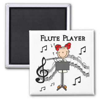 Flute Player Magnet
