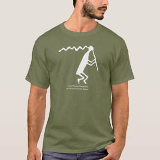 Flute Player Petroglyph T-Shirt
