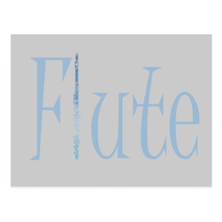 Flute Postcard