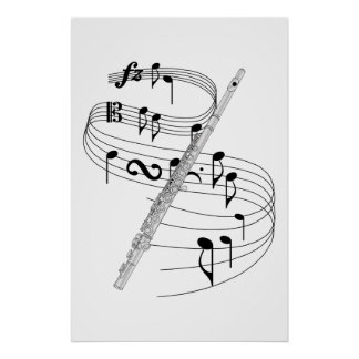 Flute Poster