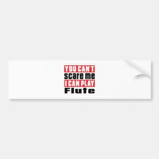 Flute Scare Designs Bumper Sticker