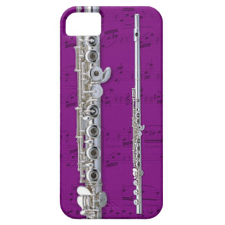Flute & sheet music phone case. Pick color iPhone 5 Cover