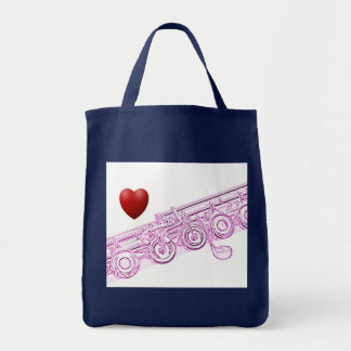 Flute Shopping Bag