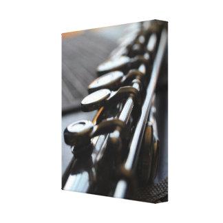 Flute Solo | Premium Wrapped Canvas Canvas Print