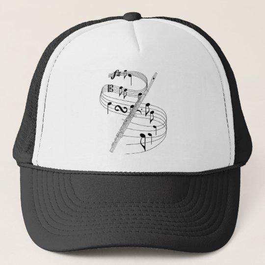 Flute Trucker Hat