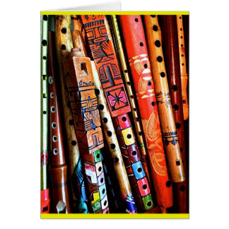Flutes Card