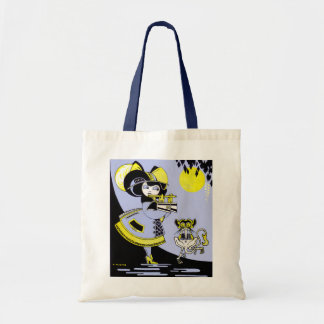 Flutist and the Monkey Budget Tote Bag