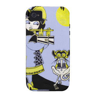 Flutist and the Monkey Case-Mate iPhone 4 Case