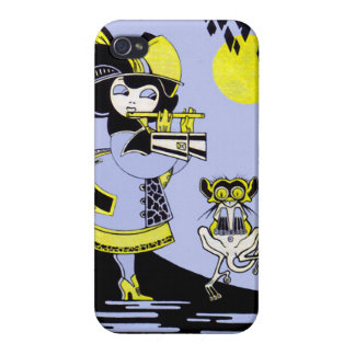 Flutist and the Monkey iPhone 4 Cases