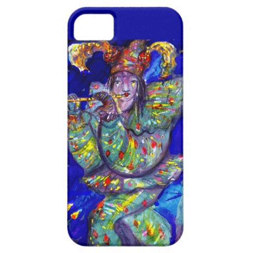 FLUTIST IN BLUE / Venetian Carnival Night iPhone 5 Cases