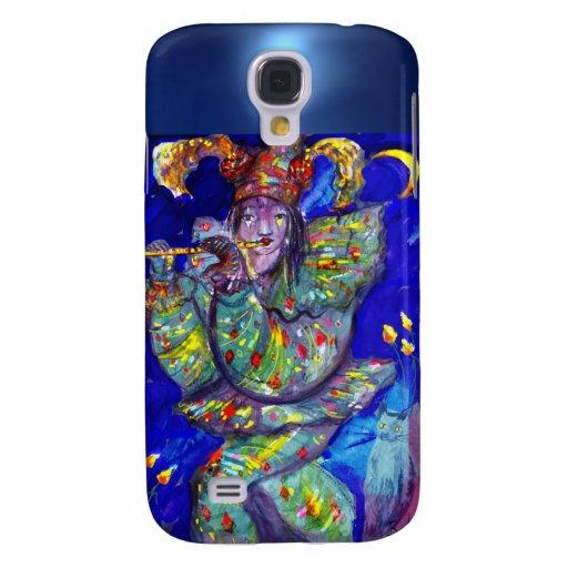 FLUTIST IN BLUE / Venetian Carnival Night Galaxy S4 Case