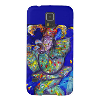FLUTIST IN BLUE / Venetian Carnival Night Cases For Galaxy S5
