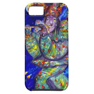FLUTIST IN BLUE / Venetian Carnival Night iPhone 5 Cover