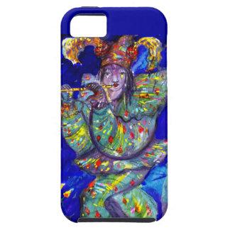 FLUTIST IN BLUE / Venetian Carnival Night Tough iPhone 5 Case