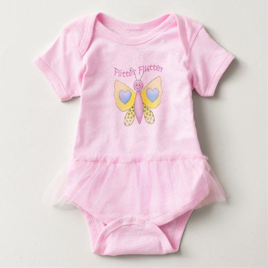 Flutter Baby Tutu Bodysuit