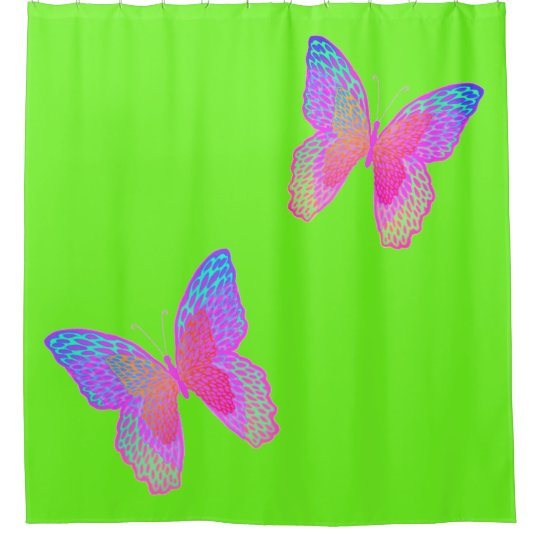 Flutter-Byes shower curtain / fairy wings