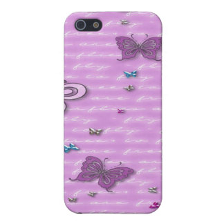 Flutterbies are Free to Fly Covers For iPhone 5