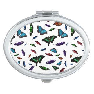 Flutterbies Compact Mirror (choose colour)