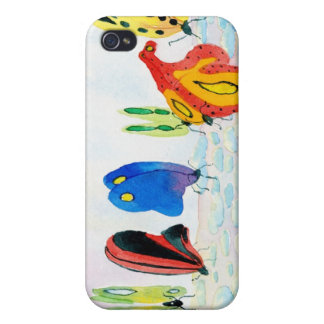 Flutterbies Covers For iPhone 4