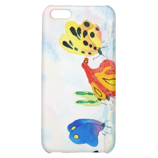 Flutterbies Case For iPhone 5C