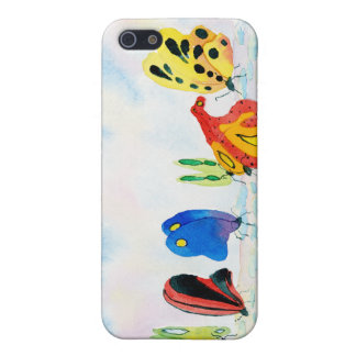 Flutterbies Cover For iPhone 5