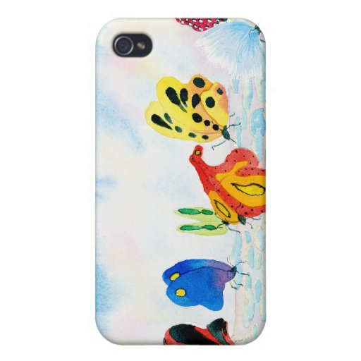 Flutterbies iPhone 4/4S Covers