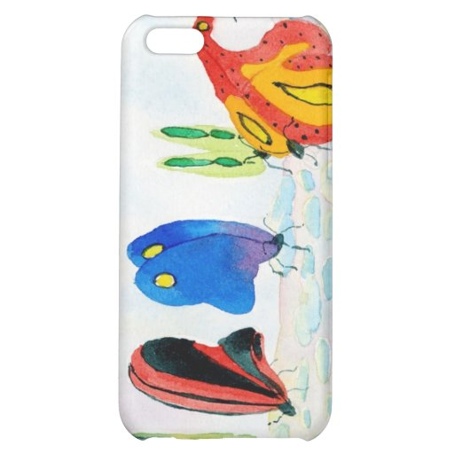 Flutterbies iPhone 5C Cases