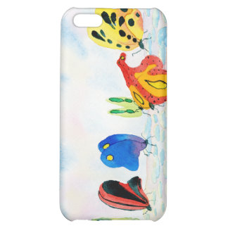 Flutterbies Cover For iPhone 5C