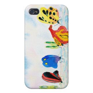 Flutterbies iPhone 4 Cases