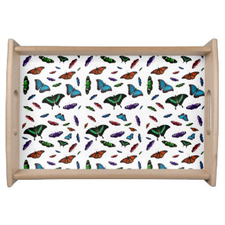 Flutterbies Tray (choose colour)