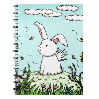 Flutterby Bunny Garden Notebook