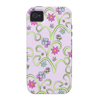 Flutterby Butterfly Vibe iPhone 4 Cases