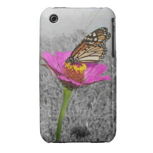 Flutterby Butterfly iPhone 3 case