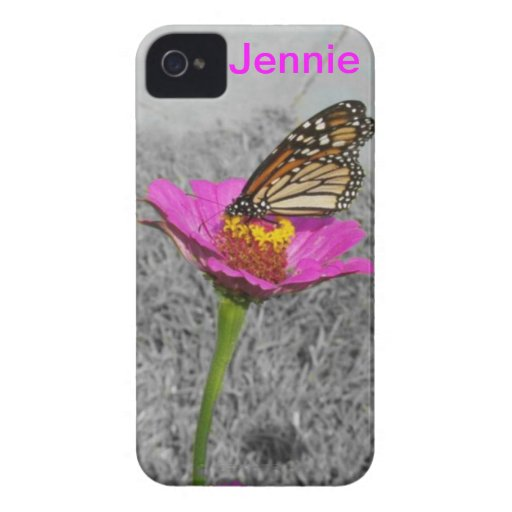 Flutterby Butterfly iPhone 4 case *personalize*
