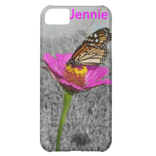 Flutterby Butterfly iPhone 5 case *personalize*