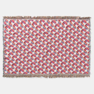 Flutterby Butterfly Throw Blanket