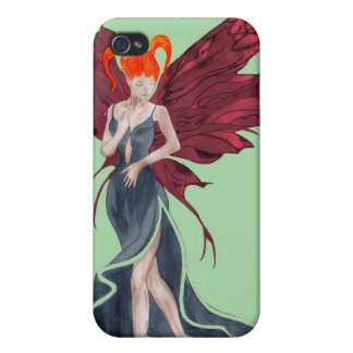 Flutterby Fae (fall-twin 1) iphone4 case Cover For iPhone 4
