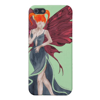 Flutterby Fae (fall-twin 1) iphone4 case iPhone 5 Cases