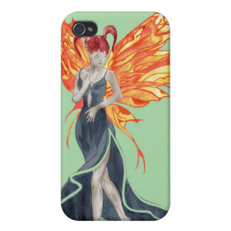 Flutterby Fae (fall-twin 2) iphone4 case iPhone 4 Cover